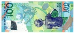 Russia 100 Rubles 2018 Football Championship UNC - Russie
