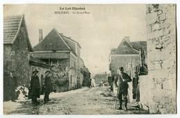Dep 82 Molieres - La Grand'Rue - Le Lot Illustré - Molieres