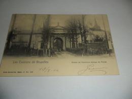 Les Environs De Bruxelles Entrée De L'ancienne Abbaye De Forest - Forest - Vorst