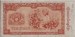 BURMA P. 54 10 K 1965 F - Myanmar
