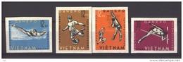 03195 -  Viet Nam Du Nord  :   Yv  345-48   (*)    Non Dentelé - Viêt-Nam