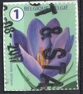 Belgique 2016 Oblitéré Used Flower Fleur Crocus SU - Belgique