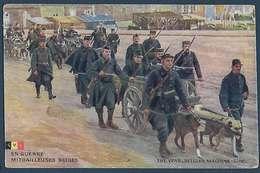 LVC - En Guerre - Mitrailleuses Belges - Guerre 1914-18