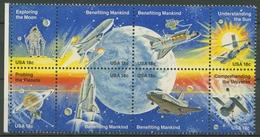 USA 1981 Erfolge Der Raumfahrt 1481/88 ZD Postfrisch - Vereinigte Staaten