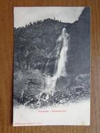 Suisse - Switzerland / 2 Karten, Adelboden - Engstligenfall --> Unwritten - BE Berne