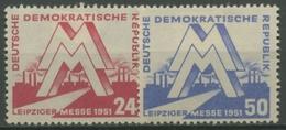 DDR 1951 Leipziger Frühjahrsmesse 282/83 Mit Falz - [6] Democratic Republic