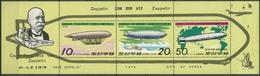 Korea (Nord) 1979 Luftschiffe: N1 Norge, Fleurus 1816/18 K Postfrisch (SG6596) - Corée Du Nord