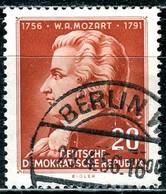 A12-50-1) DDR - Mi 511 - OO Gestempelt (A) - 20Pf          Mozart - Gebraucht