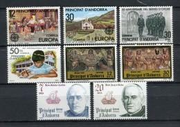 Andorra 1981. Completo ** MNH. - Andorre Espagnol