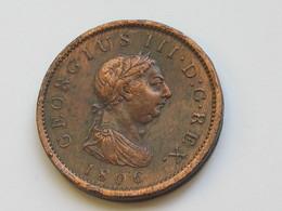 1 Penny 1806 Great Britain - Georgius III Dei Gratia. Britannia Grande-Bretagne. **** EN ACHAT IMMEDIAT **** - 1662-1816 : Anciennes Frappes Fin XVII° - Début XIX° S.