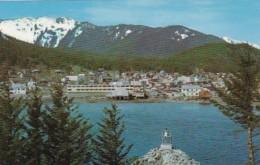 Alaska Douglas Seen Across The Gastinau Channel - United States