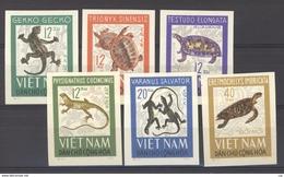 Viet-Nam Du Nord  :  Yv  488a-93a  (*)   Non Dentelé - Viêt-Nam