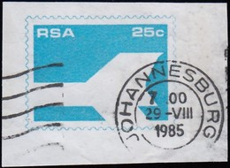 South Africa - Johannesburg / Used (SW1235) - Frama Labels