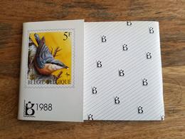 Pochette Annuelle éditée Par Bpost 1988 (Année Complète Avec Blocs Et Carnets) - Neuf - Belgio