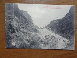 Suisse - Switzerland / Wetterhorn Aufzug Und Oberer Grindelwaldgletscher --> 1910 - BE Berne