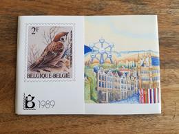 Pochette Annuelle éditée Par Bpost 1989 (Année Complète Avec Blocs Et Carnets) - Neuf - Belgique