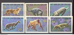 Viet-Nam Du Nord  :  Yv  535a-40a  (*)   Non Dentelé - Viêt-Nam