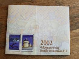Pochette Annuelle éditée Par Bpost 2002 (Année Complète Avec Blocs Et Carnets) - Neuf - Belgio
