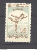Viet-Nam Du Nord  :  Yv 135  (*)  Gymnastique - Viêt-Nam
