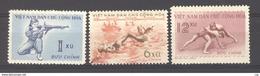 Viet-Nam Du Nord  :  Yv 172-74  (*)  Sport - Viêt-Nam