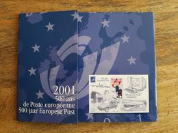 Pochette Annuelle éditée Par Bpost 2001 (Année Complète Avec Blocs Et Carnets) - Neuf - Belgio