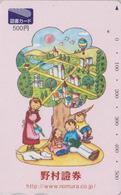 Carte Prépayée Japon -  MONTGOLFIERE - Balloon Sport Japan Prepaid Tosho Card - 229 - Sport