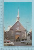 Quebec - Vieille Auto, Old Car, Devant L'église Notre-Dame-DEs-Victoire Cover: 978,Timbre Marguerite D'Youville - Québec - La Cité