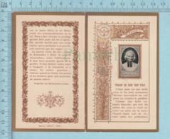 """Religion - """" La Pureté """" Pensées Du Saint Curé D'ARS, Ed: Marin Paris,  Photo Sur Carte Avec Dorure - Images Religieuses"""