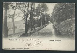 Beaumont. Parc Des Roquettes. Voyagée En 1901. - Beaumont