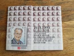 Pochette Annuelle éditée Par Bpost 1999 (Année Complète Avec Blocs Et Carnets) - Neuf - Belgio