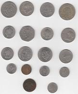 Mexique Mexico Lot De Monnaies Dont Une Très Vieille 18 Monnaies - Mexique