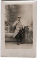 * - MIL - Lot De 3 Cartes-photos D'un Même Soldat Du 104e Ou 106e - Un Autre Soldat Avec Insigne De Mitrailleur - Guerre 1914-18