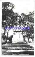 104813 PARAGUAY ASUNCION SQUARE PLAZA INDEPENDENCIA POSTAL POSTCARD - Paraguay
