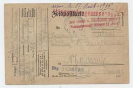 Guerre De 14, Camp Prisonniers, Münster Im West,camp N° 2, Damis, Bordeaux,1916 - Marcophilie (Lettres)