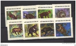 Viêt-Nam  -  Du Nord  -  1976  :  Yv  892-99  (*)  émis Sans Gomme    ,  Animal - Viêt-Nam