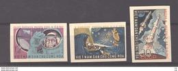 Viêt-Nam  -  Du Nord  :  Yv  303-05  (*) émis Sans Gomme , Non Dentelé - Viêt-Nam
