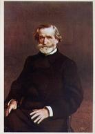 Giuseppe Verdi - 2 - Formato Grande  Non Viaggiata – E 9 - Personnages Historiques