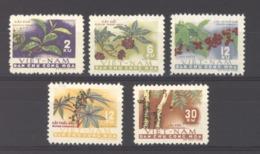 Viêt-Nam  -  Nord  :  Yv  262-66  (*)   Fruits - Viêt-Nam