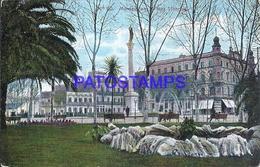 104817 URUGUAY MONTEVIDEO PLAZA LIBERTAD & FUENTE POSTAL POSTCARD - Uruguay
