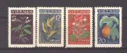 Viêt-Nam  -  Nord  :  Yv  349-53  (*)   Fleur - Flower - Viêt-Nam