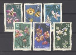 Viêt-Nam  -  Nord  :  Yv  482-87  (*)     Fleur - Flower - Viêt-Nam