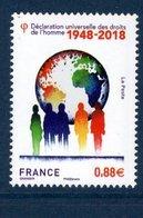 France 2018.Déclaration Universelle Des Droits De L'homme.** - Neufs