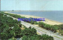 104819 URUGUAY PUNTA DEL ESTE VISTA PANORAMICA BREAK POSTAL POSTCARD - Uruguay