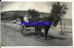 104821 URUGUAY PIRIAPOLIS CARRIAGE A HORSE BREAK POSTAL POSTCARD - Uruguay