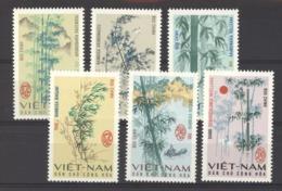 Viêt-Nam  -  Nord  :  Yv  527-32  (*)  Arbre - Tree - Viêt-Nam