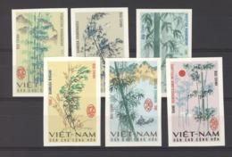 Viêt-Nam  -  Nord  :  Yv  527a-32a  (*)  Arbre - Tree  ,  Non Dentelé - Viêt-Nam