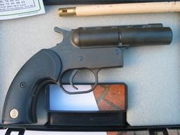 Pistolet  SAPEL - G.C. 27 - Fusée De Détresse , Mini - Carablanc - Mini Gomm - Cogne. - Militaria