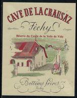 Rare // Etiquette De Vin // Bateaux à Voile  // Féchy, Réserve Du Cercle De La Voile De Vidy - Bateaux à Voile & Voiliers