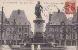 Charleville, Place Ducale Et Statue De Charles De Gonzague (pk53388) - Charleville
