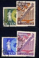 ZANZIBAR, SET, NO.'S 319-322 - Zanzibar (1963-1968)